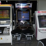 Des bornes d'arcade
