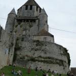 Le donjon et les touristes