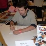 Tony Valente, auteur du manga Radiant