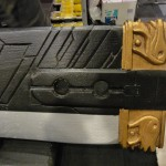 Réplique d'épée en bois
