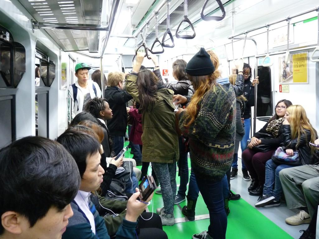 Le métro de Seoul