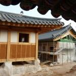 Le chantier de reconstruction du palais de Gyeongbokgung