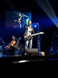 Tommy Tallarico et sa guitare Zelda
