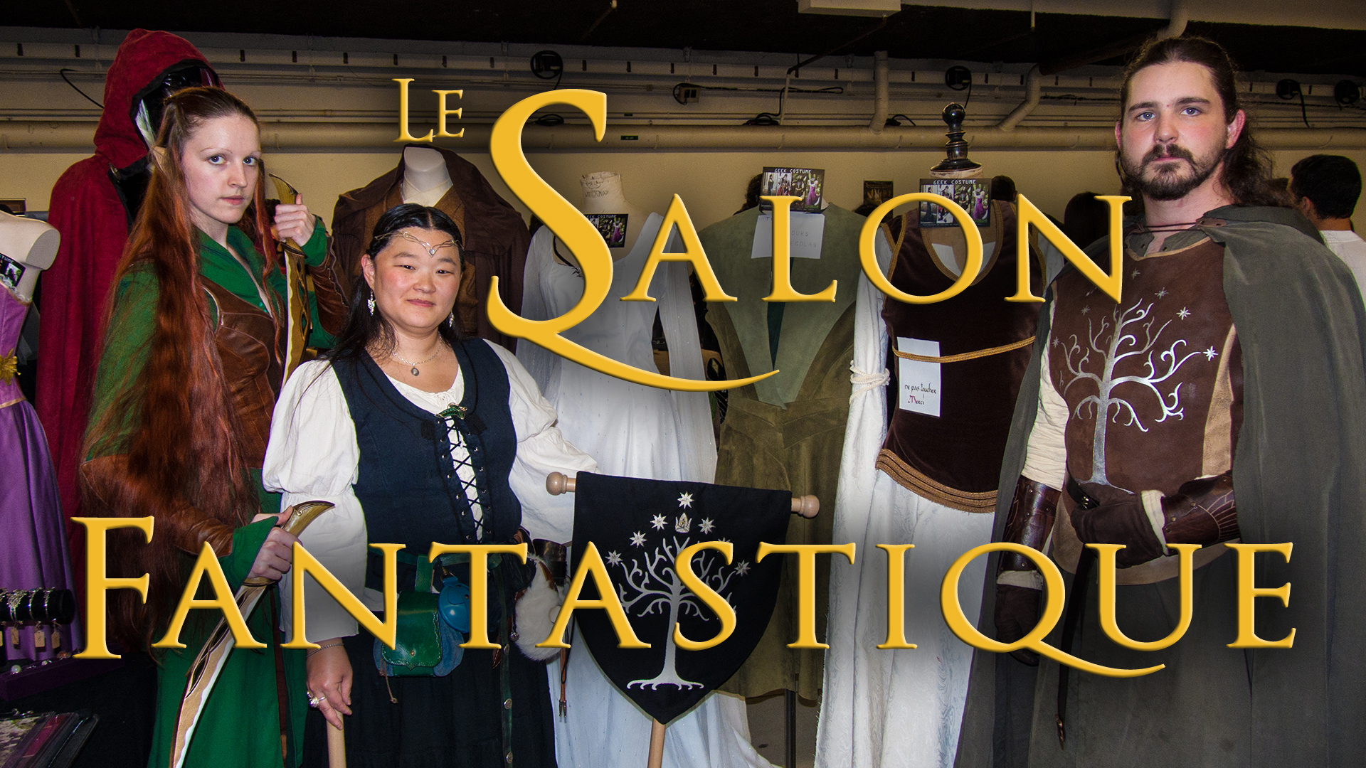Le salon fantastique lenw culture geek web et jeux vid o for Espace champerret salon